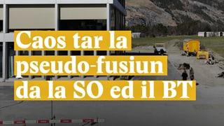 Laschar ir Video «Caos tar la pseudo-fusiun da la SO ed il BT»