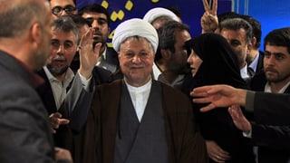 Rafsandschani will Präsident werden