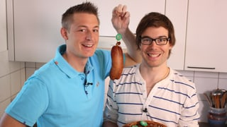 Video «Traditionelle Saucisson Vaudois au Vin Rouge» abspielen