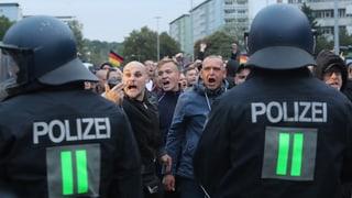18 Verletzte bei Protesten in Chemnitz
