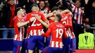 Atletico Madrid e Marseille en il final