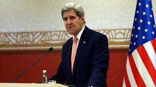 Atom-Deal: Kerry wirbt für Atomabkommen mit Iran