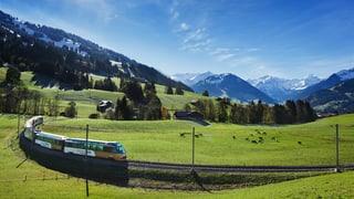 Von Interlaken nach Montreux fahren ohne Umsteigen