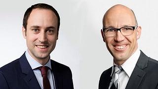 Wie geht es weiter mit der Schweizer Wasserkraft? Streitgespräch mit Christian Wasserfallen (FDP) und Stefan Müller-Altermatt (CVP).