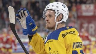 Il defensur Magnus Nygren resta tar il HCD
