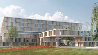 Offizieller Baustart: Ein «Waldspital» für 450 Millionen Franken