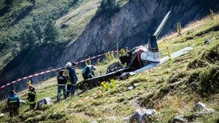 Tote bei Flugzeugabsturz im Wallis