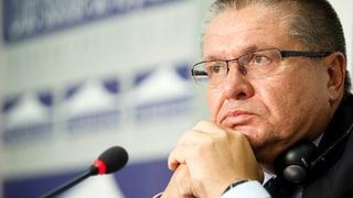 Schmiergeld-Verdacht: Putin entlässt Wirtschaftsminister