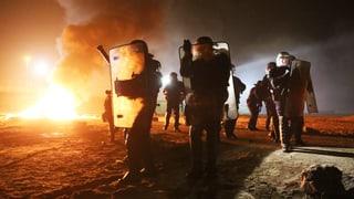 Ausschreitungen beim Flüchtlingslager von Calais