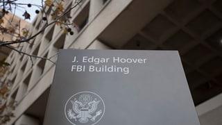 FBI warnt vor Veröffentlichung eines geheimen Berichts