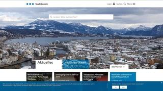 Luzern will mit der Digitalisierung vorwärts machen