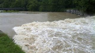 Hochwasser: Kanton Zürich ergreift Massnahmen