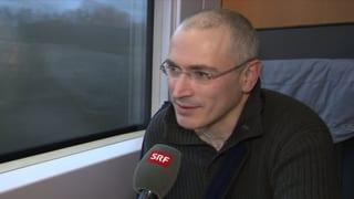 Chodorkowski ist in der Schweiz