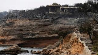 Chattà responsabel per incendis en Grezia