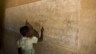 Bildung für Kinder auf der Flucht