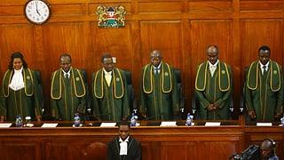 Gericht bestätigt Wahlsieg von Kenyatta