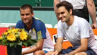Federer am Donnerstagabend gegen Juschni