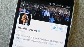 Digitale Übergabe: Zu Obamas Amt gehört auch das Twitter-Konto