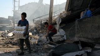 Stadt Aleppo ist nicht mehr abgeschnitten