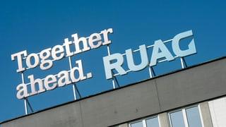 Ruag erzielt Rekordgewinn trotz starkem Franken