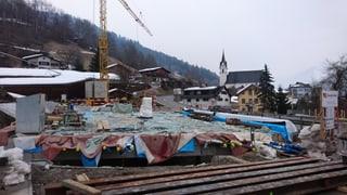 Plazzal a Schluein: Las colonnas èn programadas