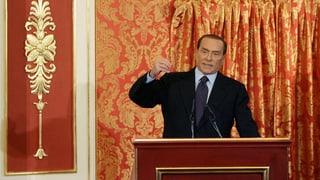 Verbale Breitseiten: Berlusconi angriffslustig wie immer
