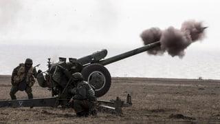Las armas per lung da la front en l'Ucraina vegnan retratgas