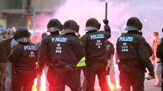 Verletzte bei Kundgebungen in Chemnitz