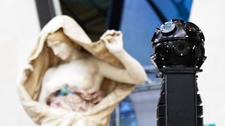 Wenn die Google-Kamera durchs Museum streift