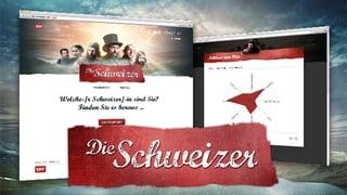 Wie klickt die Schweiz? Welche/r Schweizer/in sind Sie? Finden Sie es heraus!