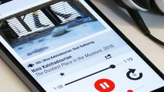 Audioguide des MoMA über Staub im Museum