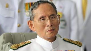 In Thailand ist mit Majestätsbeleidigungen nicht zu spassen