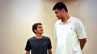 Der grosse Federer mal ganz klein
