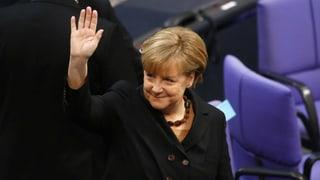 Jetzt kanns losgehen: Merkel zur Bundeskanzlerin ernannt
