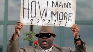 «Wie viele noch?»: Chronologie tödlicher Polizeigewalt in den USA