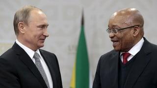 Putins Brics-Pläne: Freihandel mit Indien und AKWs in Südafrika