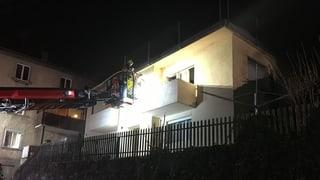 Unfrenda da l'incendi a Cuira mora en l'ospital