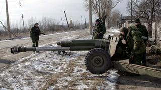 In der Ostukraine wird weiterhin gekämpft