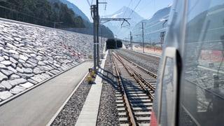 Gotthard-Basistunnel: In 100 Tagen geht's los