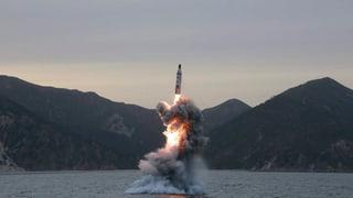 Corea dal Nord testescha racheta senza success