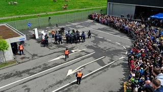 Direktor der Polizeischule Hitzkirch nimmt den Hut