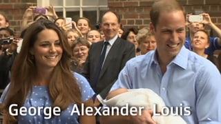 «Royal Baby»: George tritt in grosse Fussstapfen