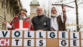 Recurs da votaziun cunter l'iniziativa dal daner cumplain