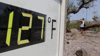 Rekordverdächtige Hitze im Westen der USA