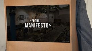 Für Dada in den Ring steigen und kämpfen