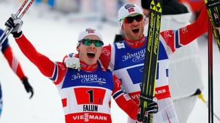 Norvegiais gudognan il sprint da squadras