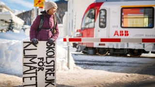 Greta Thunberg will in Davos im Zelt übernachten (Artikel enthält Video)