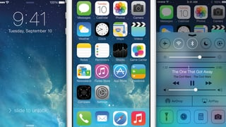iOS 7: Licht statt Leder