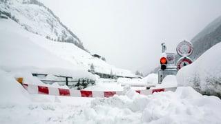 In den Alpen ist der Verkehr stark beeinträchtigt