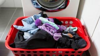 11:00 Uhr: In Schweizer Haushalten stoppt die Waschmaschine